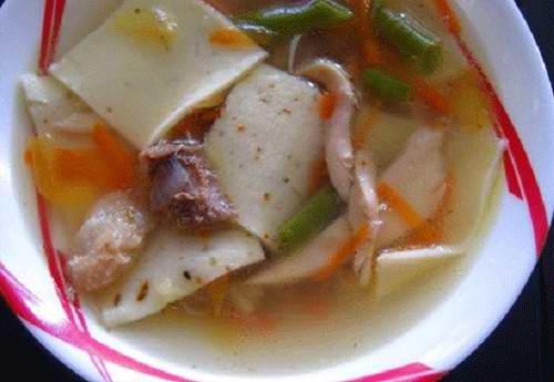 пошаговый рецепт куриного супа с лапшой