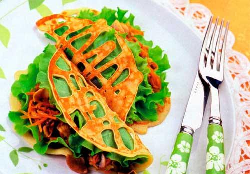 Салат ажурный рецепт с фото