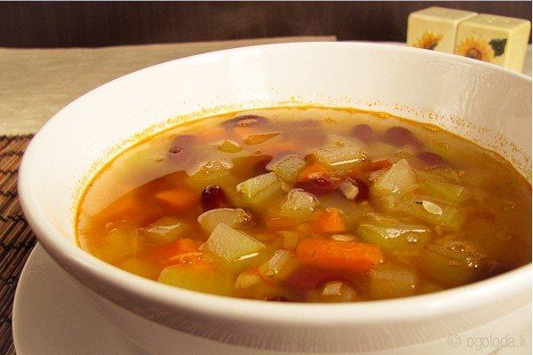 фасолевый суп рецепт классический из консервированной фасоли