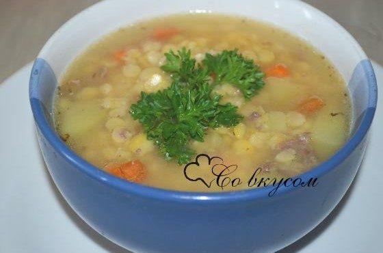классический рецепт горохового супа мясом