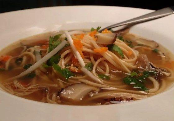 Рецепты супа из шампиньонов с вермишелью