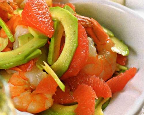 Калифорнийский салат с грейпфрутом