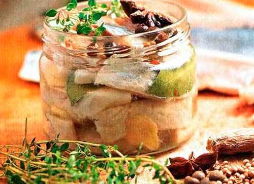 Сельдь в маринаде в домашних условиях рецепт с фото