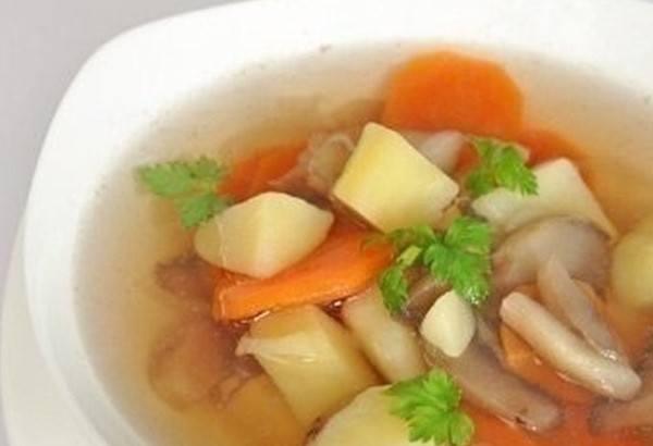 Грибной суп из шампиньонов рецепт постный