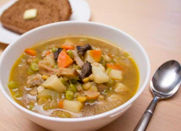 Диетический суп с грибами рецепт
