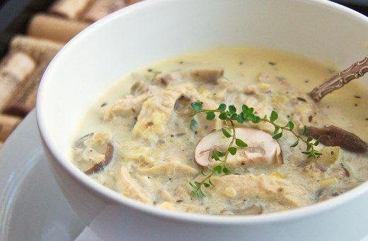 самый вкусный рецепт грибного супа из шампиньонов