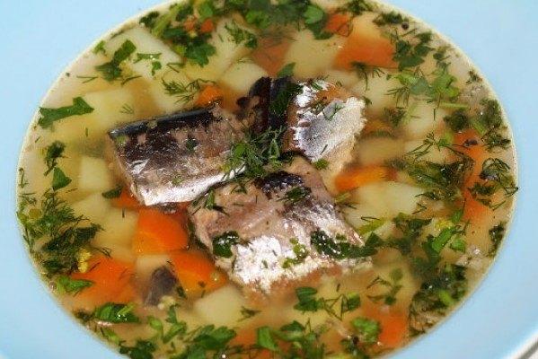 рецепт супа из консервы видео