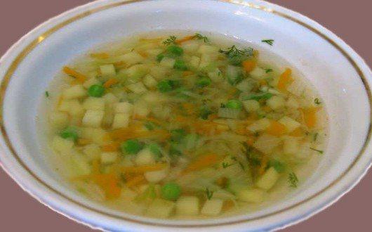 рецепт овощного супа для диабетика 2 типа