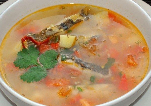 суп из камбалы рецепт с фото