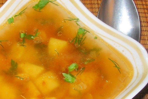 Суп из путассу рецепт с пошагово