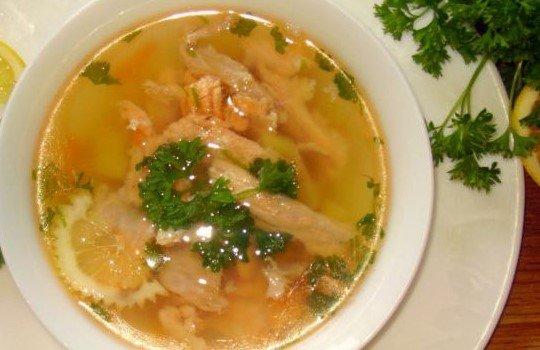 рецепт супа из консервированной сайры с пш