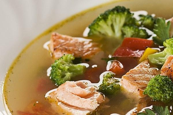 рецепт супа из рыбы и брокколи