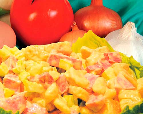 salat owosh Несколько рецептов для романтического ужина