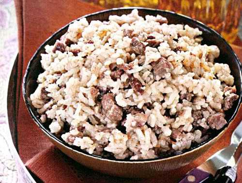 Баранина вареная с рисом — шилаплави