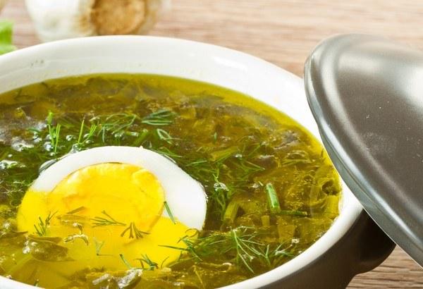 рецепт щавелевого супа с курицей в мультиварке