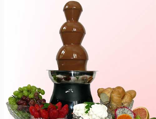 Шоколадные фонтаны рецепт с фото