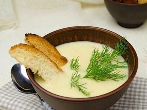Суп сырный со сливками рецепт