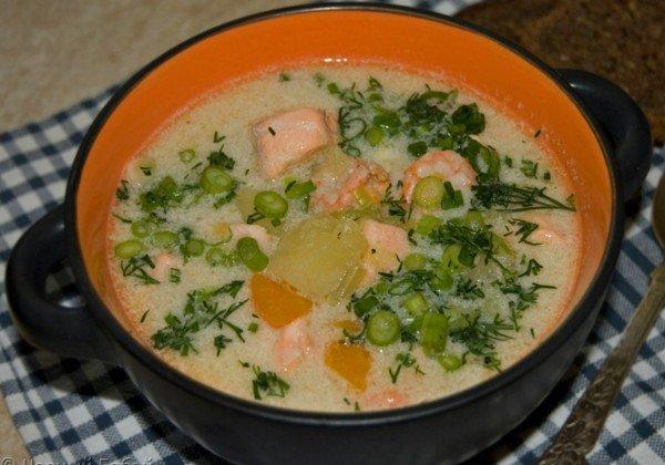 рецепт финского супа со сливками и лососем