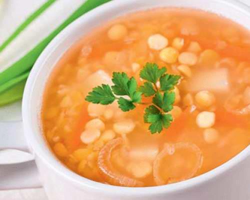 Гороховый суп рецепт для детей с фото