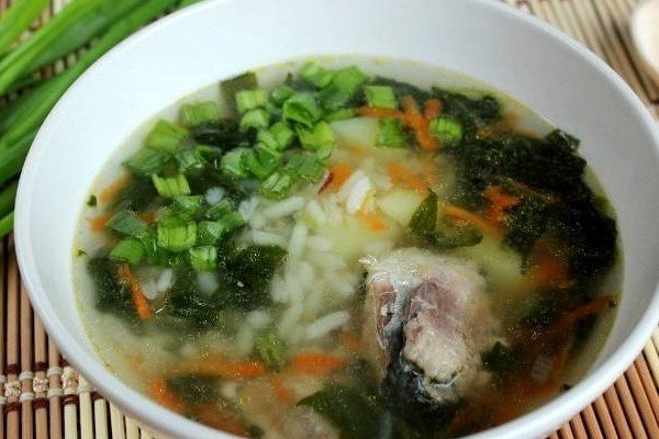 Рыбный суп из консервы сардины рецепт
