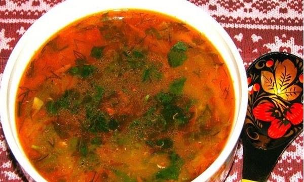 рецепт приготовления супа из кильки в томатном соусе