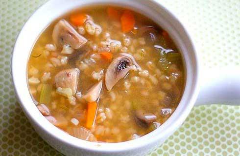 как приготовить суп из шампиньонов фото рецепт