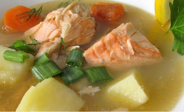 очень вкусный суп из красной рыбы рецепт