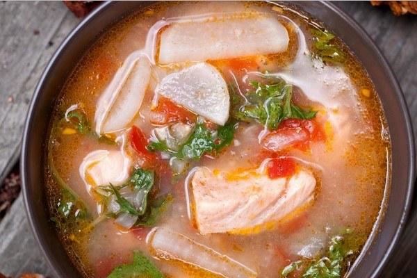 вкусный суп из красной рыбы рецепты