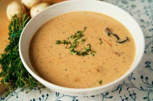 рецепты грибного супа из сушеных грибов с перловкой
