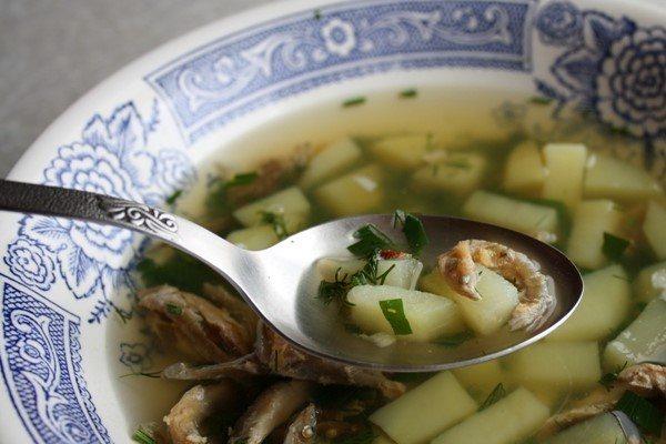 Как сварить суп из вяленой