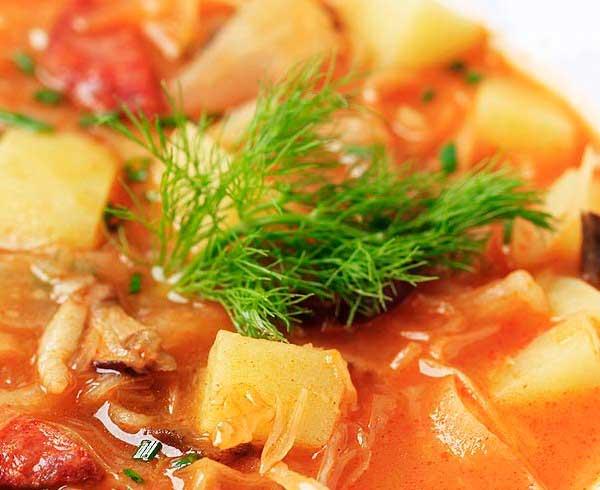 рецепт суп картофельный со свининой рецепт