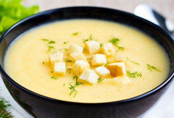 Крем суп из цветной капусты без сливок рецепт
