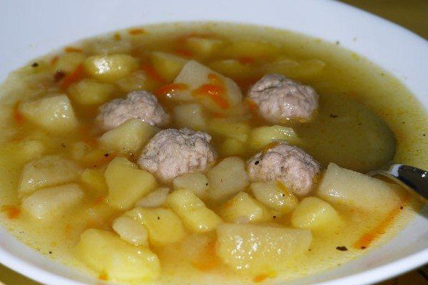 рецепт супа с куриными фрикадельками в мультиварке