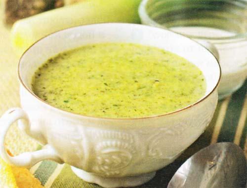 Суп пюре из щавеля по валлийски