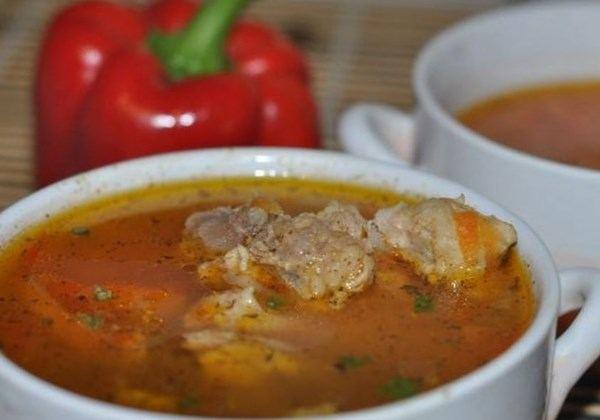 рецепт супа из свиной ножки