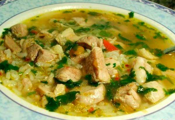 суп из свинины рецепты с фото с картошкой
