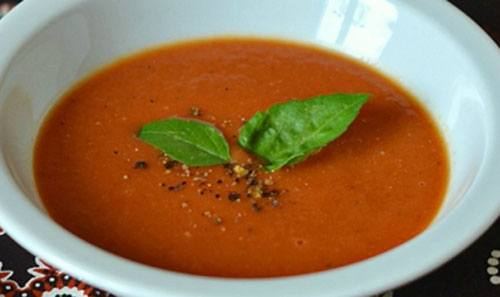 Томатный суп пюре классический рецепт с фото