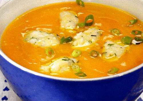 Куриный суп с тыквой рецепт с фото