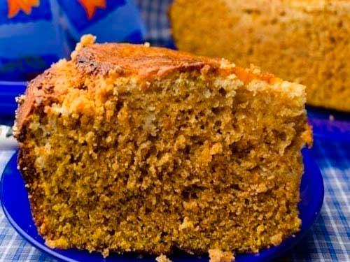 Пирог тыквенный с голубым сыром – кулинарный рецепт