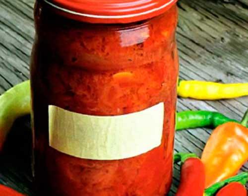 Антуриум из острого перца – кулинарный рецепт