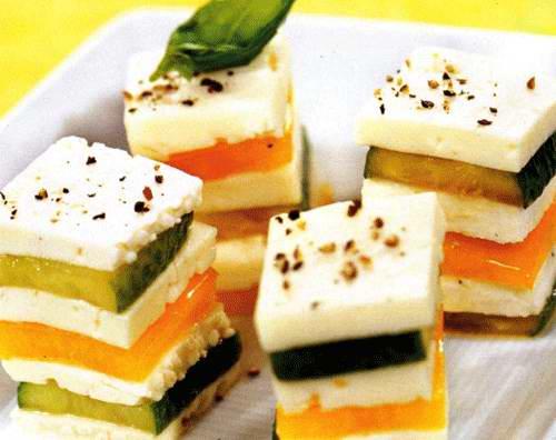 оригинальные рецепты салатов и закусок для банкетов.