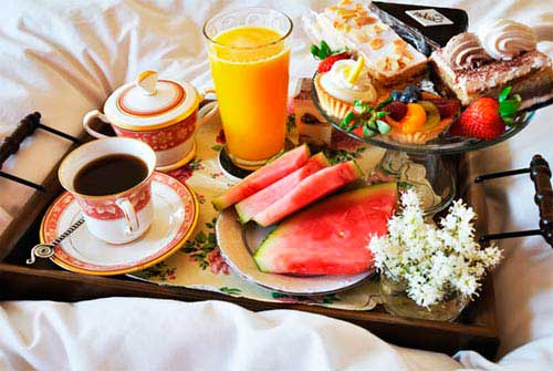 Завтрак в постель