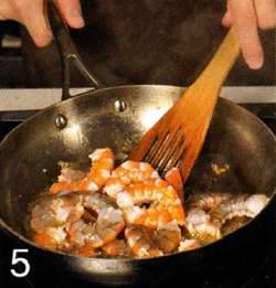 Домашняя паста с креветками