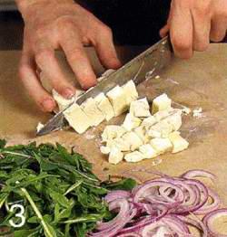 Салат с тыквой и фетой