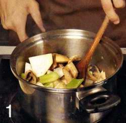 Суп-крем из шампиньонов и кольраби