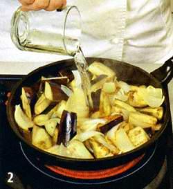 Овощное рагу с тимьяном