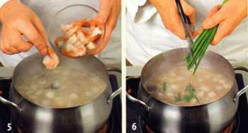 Новогодний японский суп