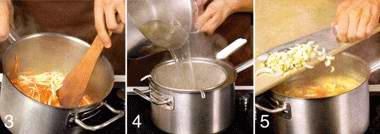 Зимний суп с кольраби и сельдереем