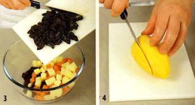 Винегрет с манго