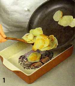Мясная запеканка и кукурузой с картофелем